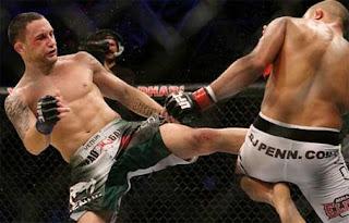 UFC 118 B.J. Penn vs Frankie Edgar Photo