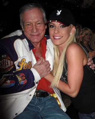 Crystal Harris and Hugh Hefner Engagement Rumor