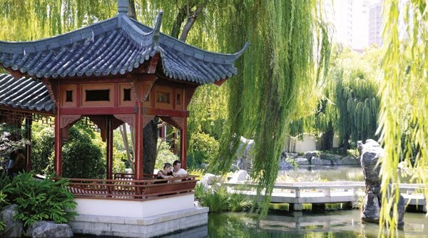 Viaje a sydney for Jardin chino