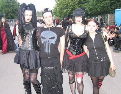 grupos gotica: