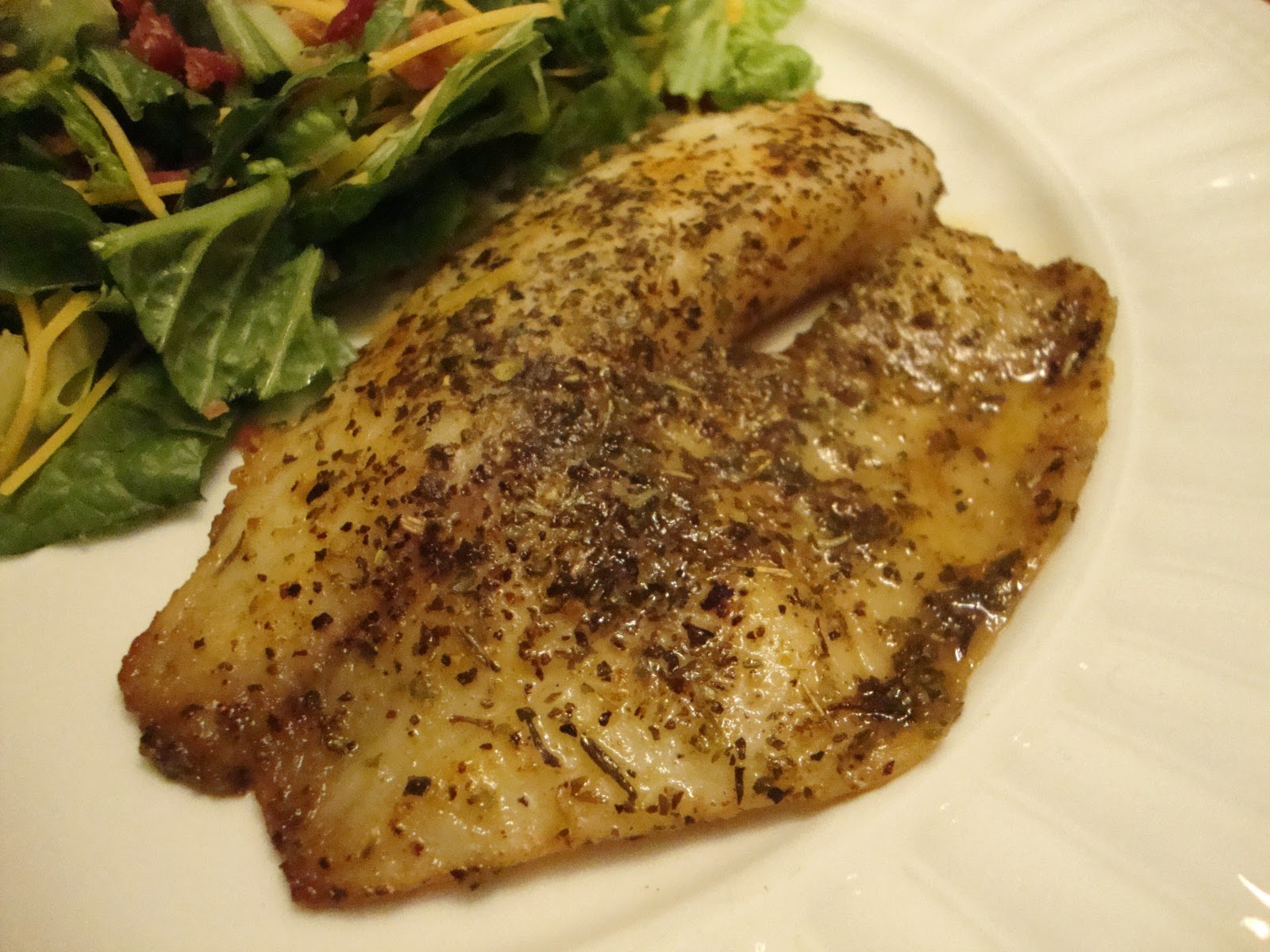 gone with the whisk simple baked fish with house seasoning