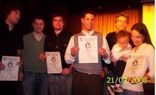 Entrega de los certificados, domingo 21 de septiembre de 2008, Mar del Plata, Sala Osvaldo Soriano