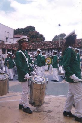 Banda Prof. Pedro Crescencio - Desfile de 1996