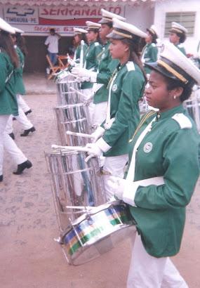 Banda Prof. Pedro Crescencio desfile de 1996