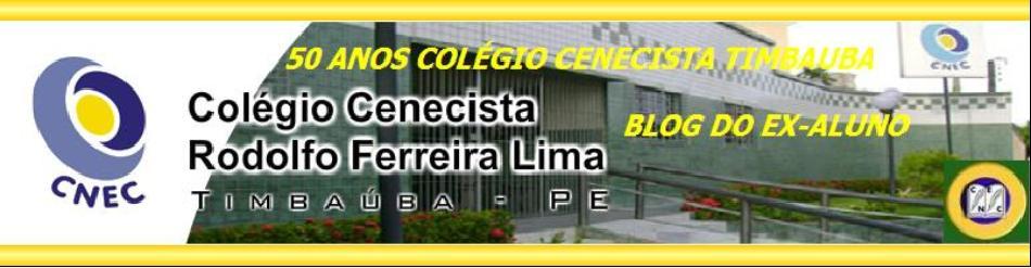 50 ANOS CENECISTA DE TIMBAÚBA