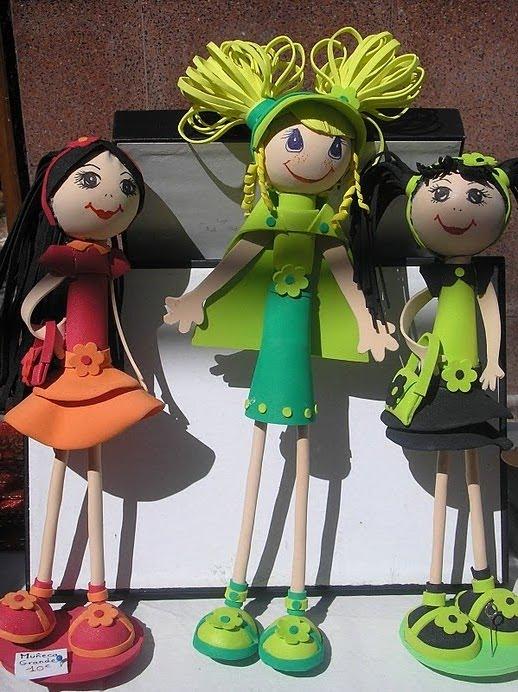 Muñecas grandes 30 cm