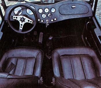 MP Lafer TI: interior