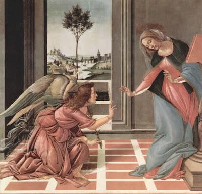 Anunciação - Sandro Botticelli
