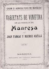 Document sobre les varietats de 1901 al Bages