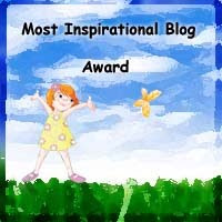 Inspirational Mom&#39;s Blog Award