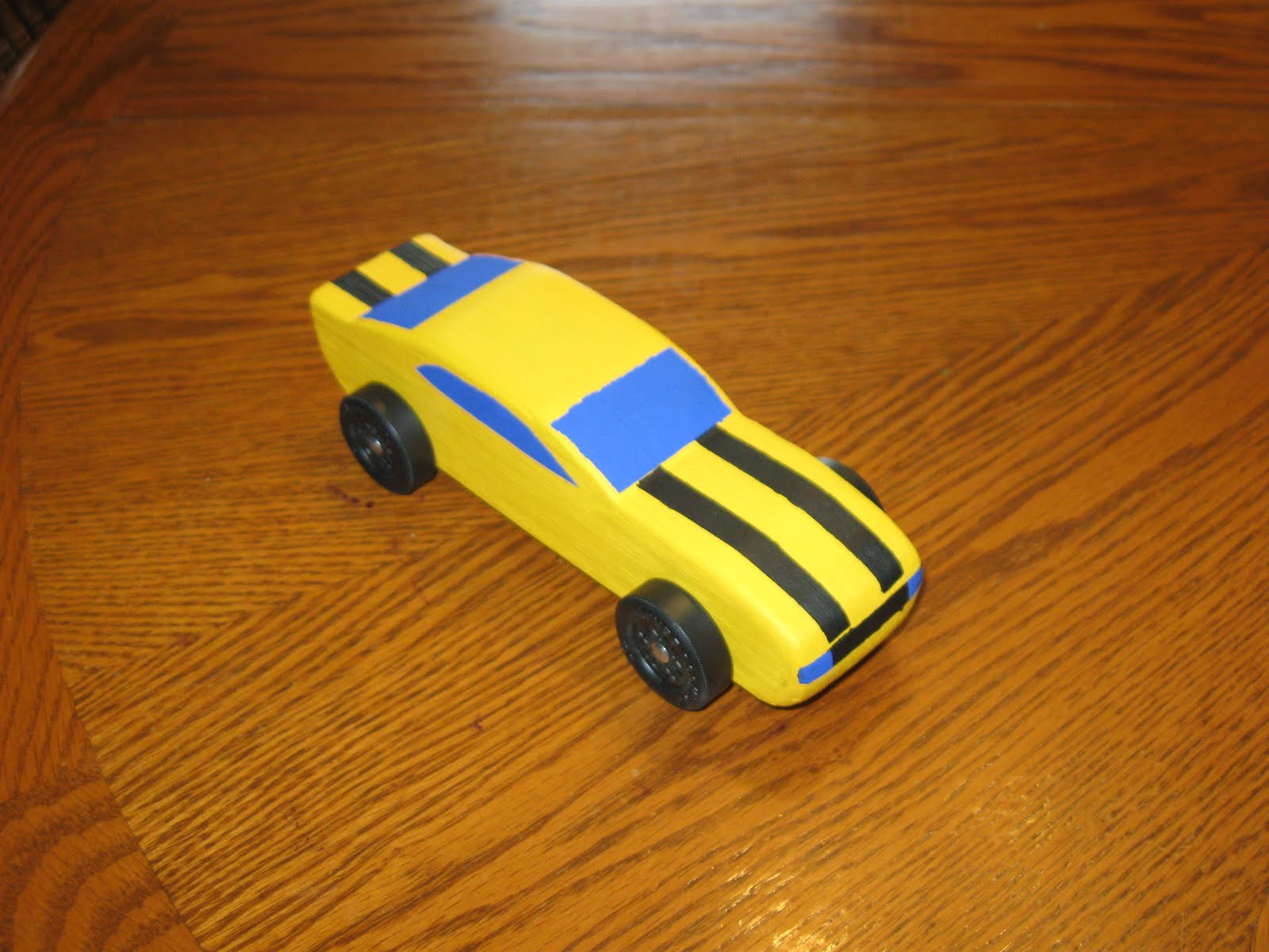 The Culbertson Family Pinewood Derby
