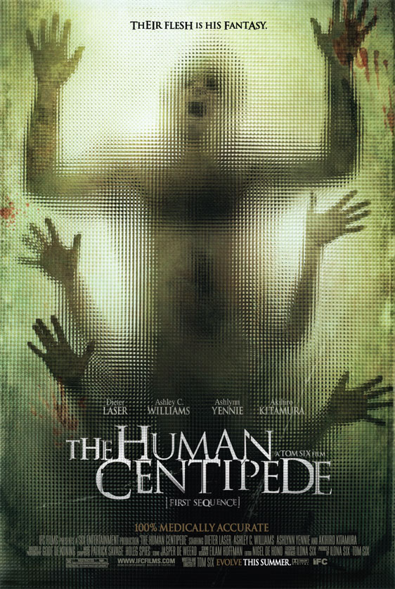 human centipede dog. The Human Centipede three