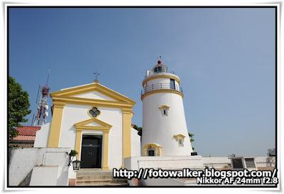聖母雪地殿教堂和東望洋燈塔