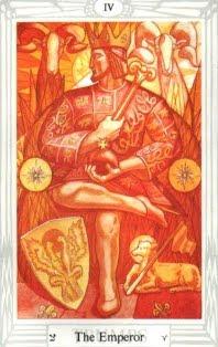O IMPERADOR – Tarô de Crowley