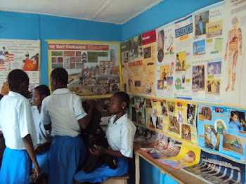 Donation of Educational WallChart to High School