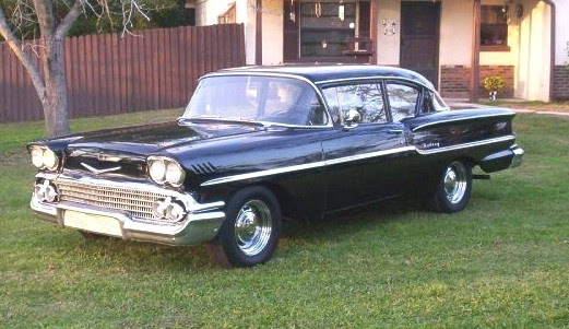 1950 To 1959 Classic Chevrolet Cars And Trucks 1958