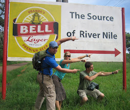 On our quest to the source of the River Nile