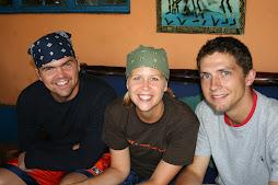 Peter, Lindz and Michael