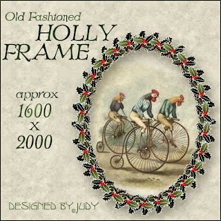 Holly Frame Preview - Click to enlarge