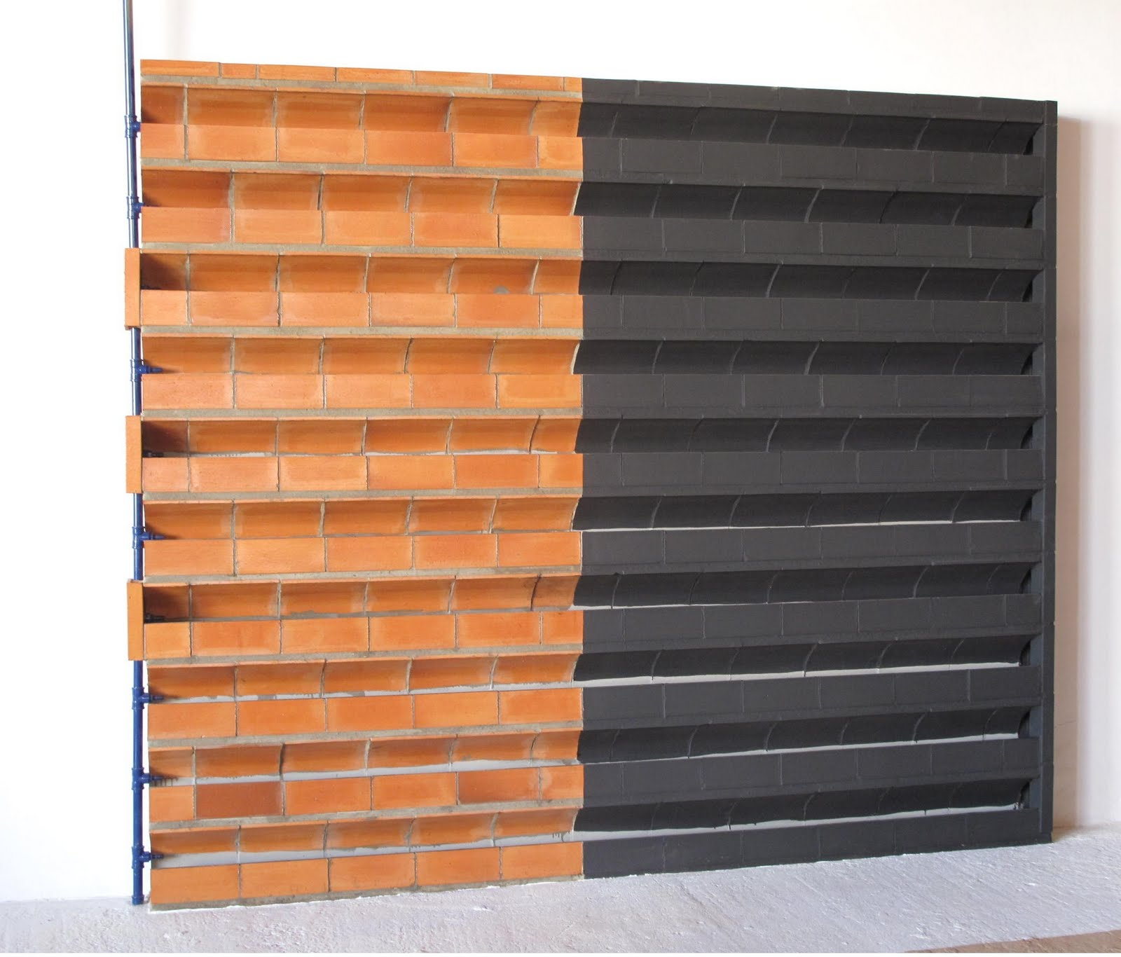 jardim vertical tijolo:Blog da Paisagista: Novidades para Parede Verde