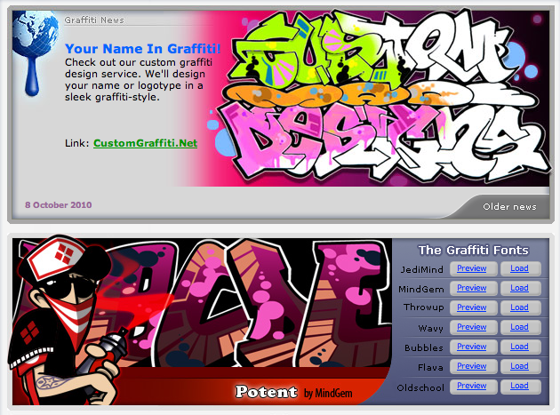 Writing Graffiti Creator