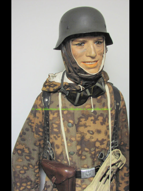 Ostfront WW2,  Oak Leaf Camo Elite Winter-Tarn Kampfanzug