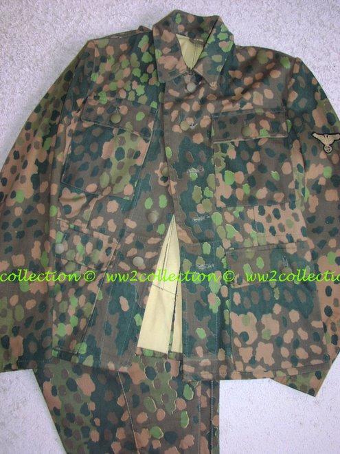 "Waffen-SS Uniform SS-BW ""SS Bekleidungswerke"" marked"
