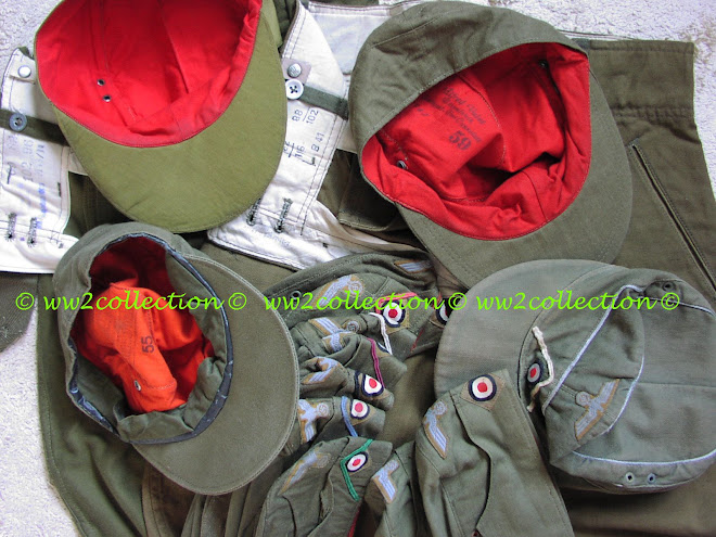 Afrikakorps Breeches and Cap Markings DAK