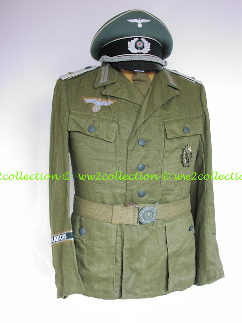 Afrikakorps Infantry Tunic as often worn by officers