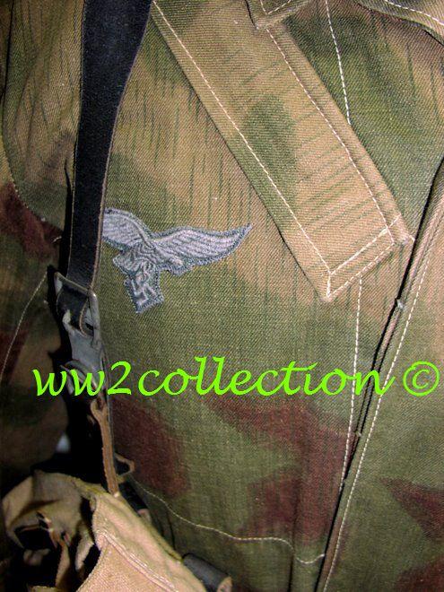 """Luftwaffe Fallschirmjager Springerjacke """"Knochensack"""" jump smock"""