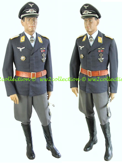 WW2 Luftwaffe Fighterpilot German, WW2 Uniformed Mannequin (All uniformed Mannequins are Life-size)