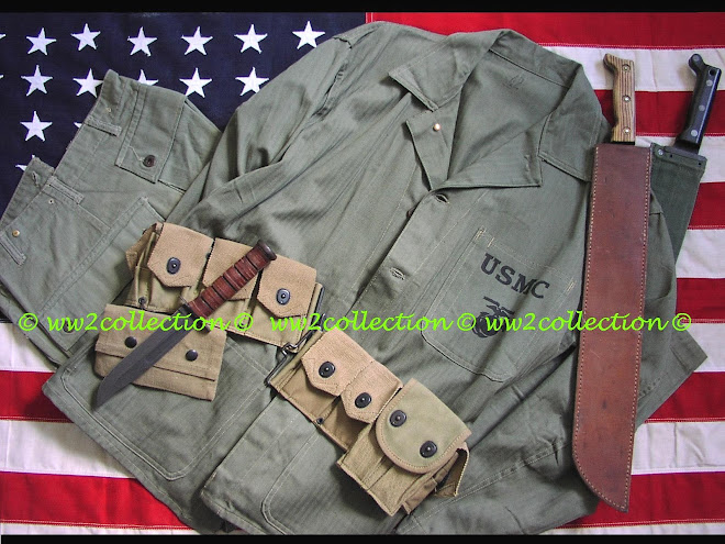 USMC WW2 HBT Uniform