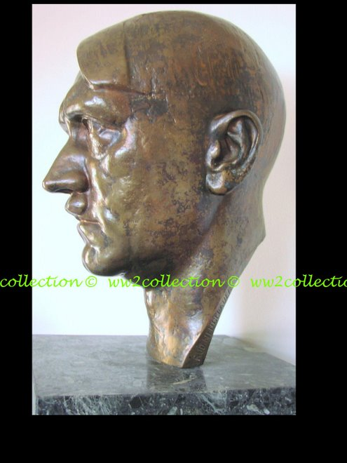 Adolf Hitler Bust Bronze sculpture