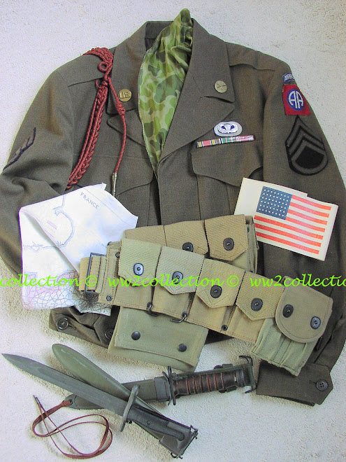 WW2 US Paratrooper 82nd Airborne Division