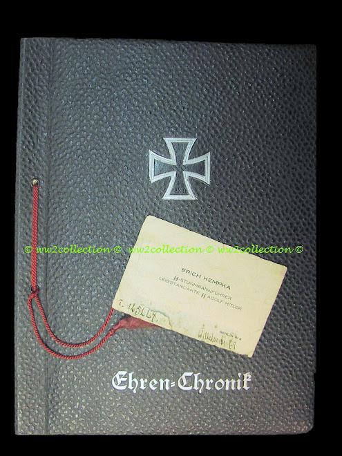 Third Reich - Hitler's chauffeur, Erich Kempka business card