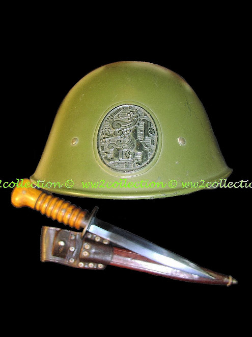 Helmet Army The Netherlands WW2 and Stormdolk M17
