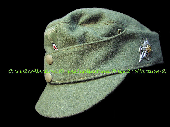 Field cap M43 for Gebirgsjäger German WW2