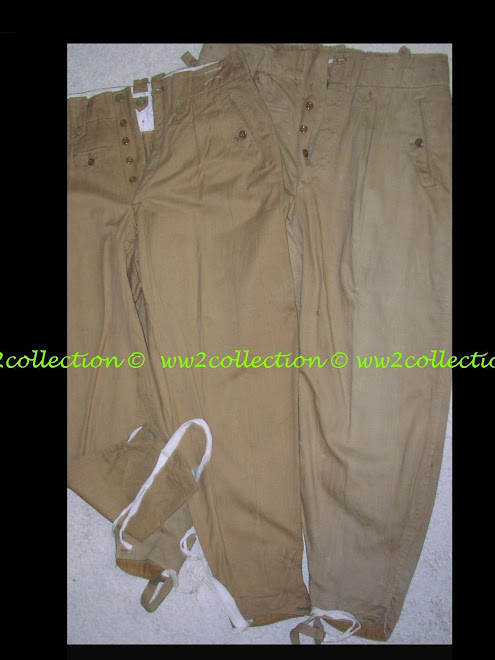 SS combat trousers tropical