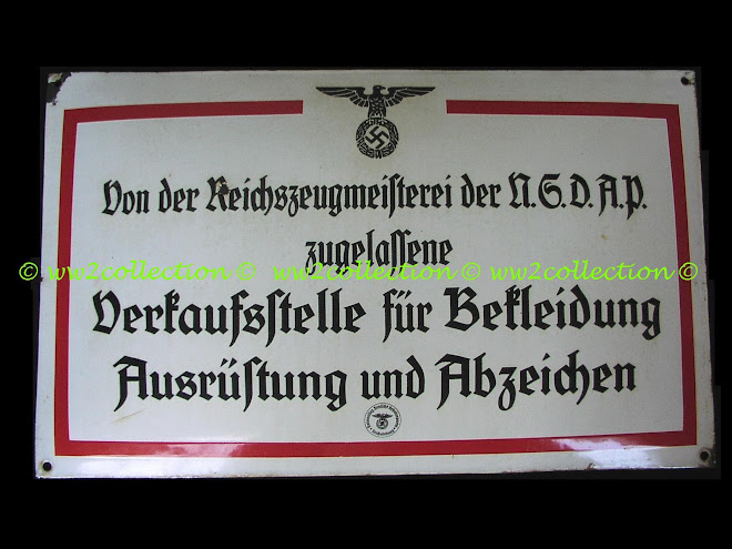 RZM - Reichs Zeug Meisterei Porcelain Faced Wall Sign