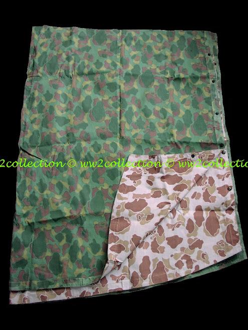 WW2 camouflage Poncho