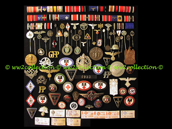 German WW2 Ribbon Bars, Nazi Stick Pins, Nazi Tinnies