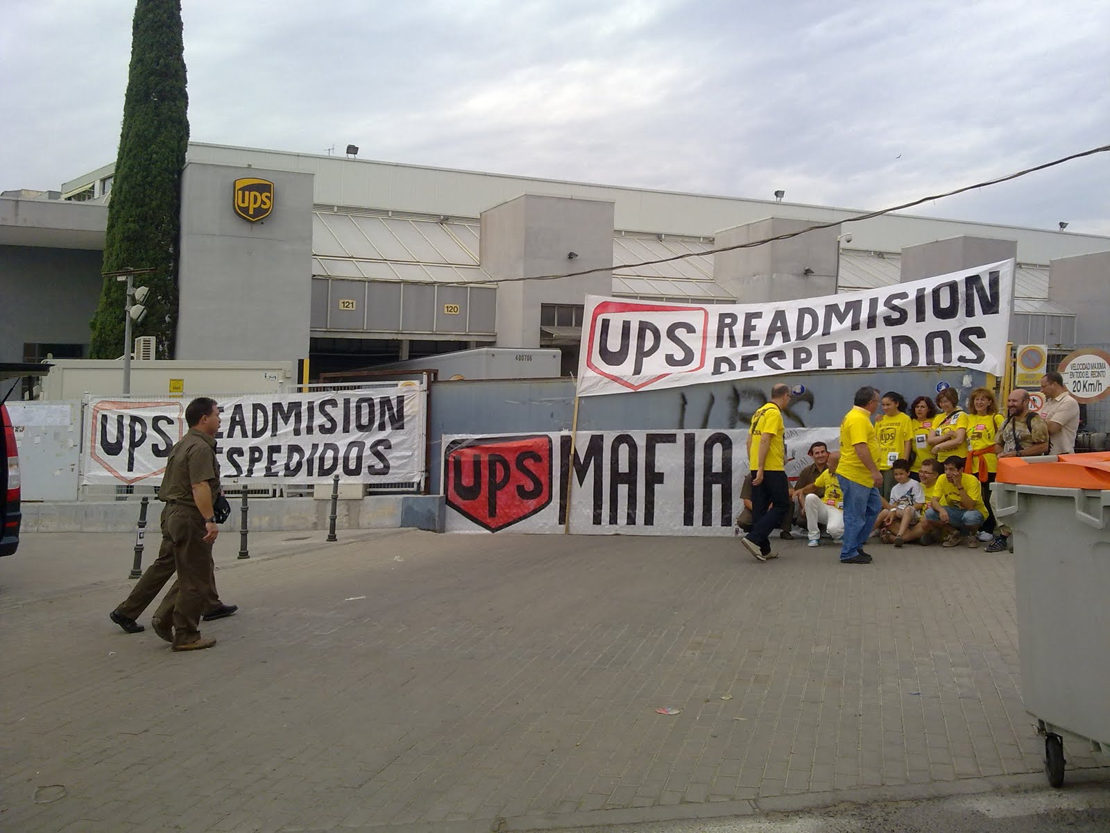 Blog de los as trabajadores as de ups vallecas octavilla for Oficina empleo coslada