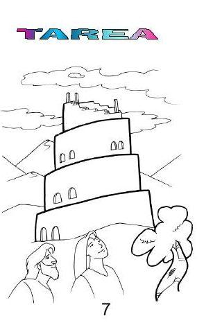 CLASES BIBLICAS VISUALIZADAS: La Torre de Babel ( librito para ...