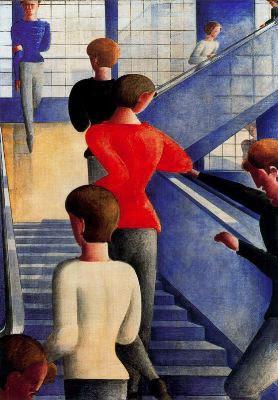 La escalera de la Bauhaus