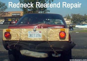 Redneck Pimped Bumper