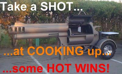 Hot Wins Gun Grill Magnum