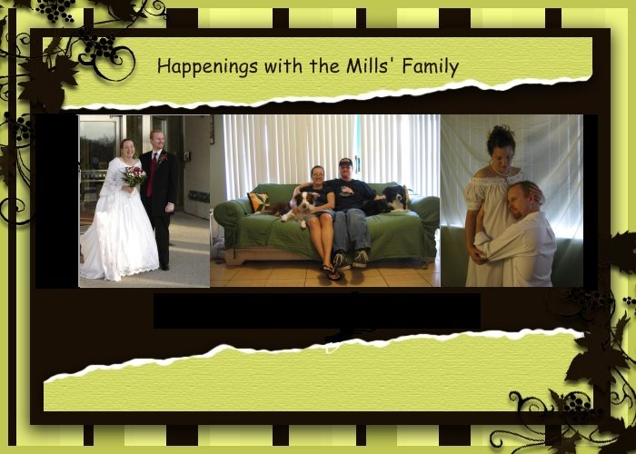 Happenings with the Mills' Family