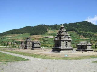 temple at Dieng Plateau