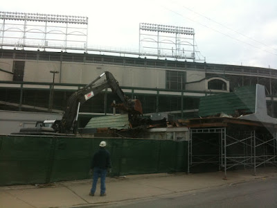 wrigley field triangle 1