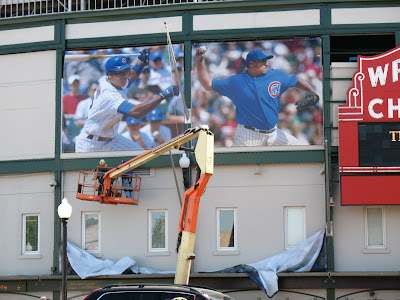 wrigley field player banners 1
